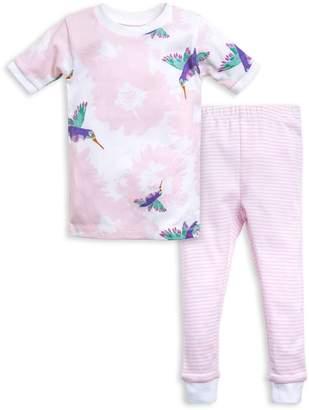 Burt's Bees Hummingbird Splatter Organic Baby Pajamas