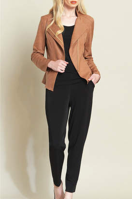 Clara Sunwoo Knit Leather Multi Zip Jacket