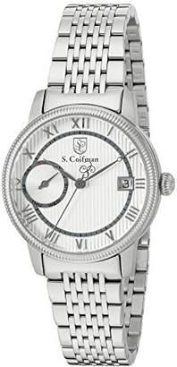 S. Coifman Women's 'Lady Bracelet' Swiss Quartz Stainless Steel Watch