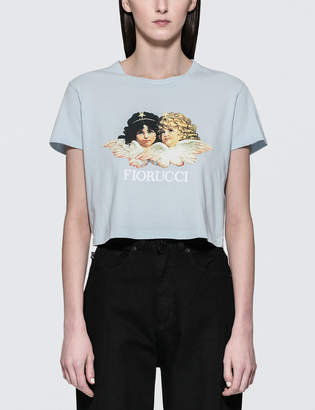 Fiorucci Vintage Angels Cropped Tee