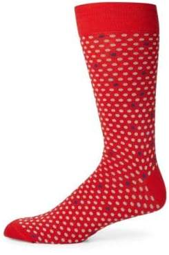 Saks Fifth Avenue COLLECTION Dot Design Socks