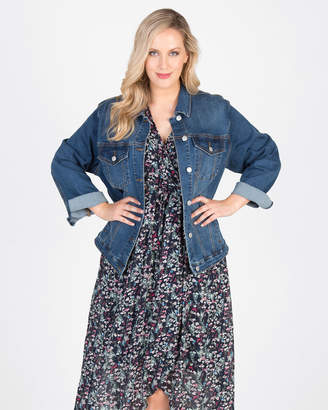 High Street Stretch Denim Jacket