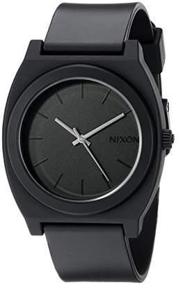 Nixon Time Teller P A119. Matte Men's Watch (40mm. Matte Poly Band/ Matte Watch Face)