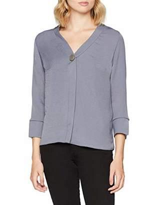 New Look Women's 5915813 Shirt, (Mid Grey), (Size:)