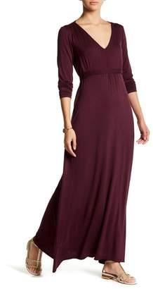 24\u002F7 Comfort Enchanting V-Neck Long Sleeve Maxi Dress (Plus Size Available)