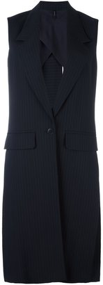 Helmut Lang long waistcoat $653.54 thestylecure.com