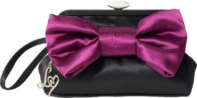 Lipsy Bow Clutch Bag