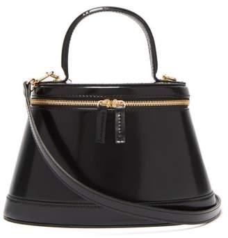 BY FAR Annie Leather Bag - Womens - Black