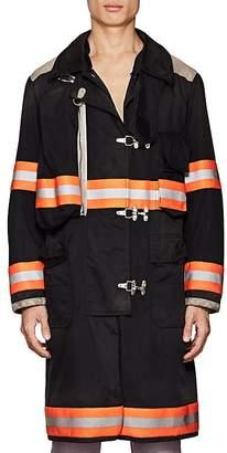 Calvin Klein Men's Twill Firefighter Coat