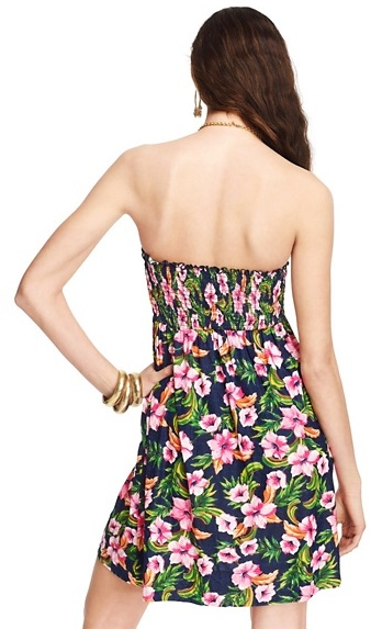 Juicy Couture Wild Flower Short Coverup Dress