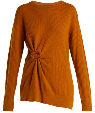 Sies Marjan Brynn Cashmere Sweater - Womens - Dark Orange
