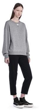 Alexander Wang Soft French Terry Sweatshirt