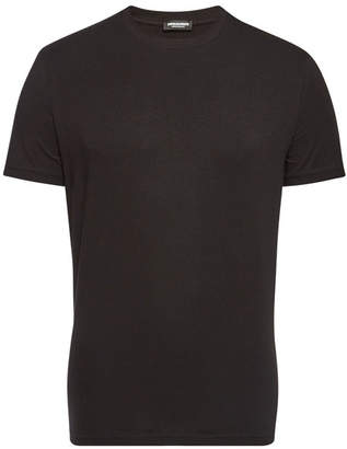 DSQUARED2 Stretch Cotton Round Neck T-Shirt