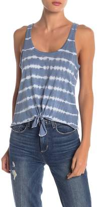 Chaser Tie Front Tie-Dye Tank
