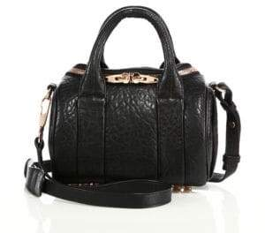 Alexander Wang Rockie Mini Pebbled Leather Duffel Bag