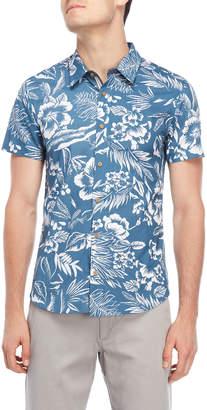 Threadbare Verdant Floral Short Sleeve Shirt