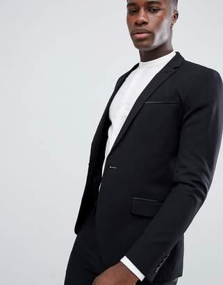 ONLY & SONS Skinny Tuxedo Jacket