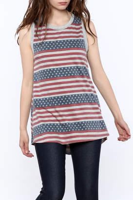 12pm by Mon Ami Stars And Stripes Tank