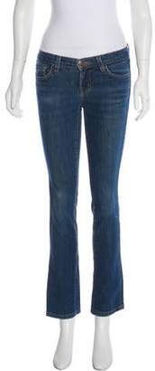 J Brand Ink Mid-Rise Jeans