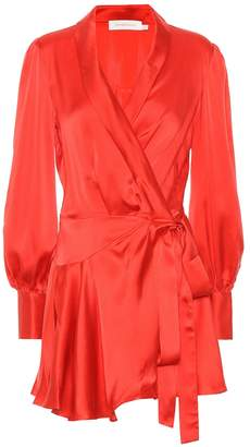 Zimmermann Silk satin minidress