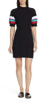 Proenza Schouler PSWL Stripe Sleeve Ribbed Dress