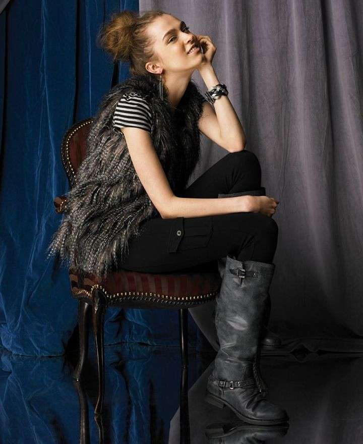 American Rag Vest, Sleeveless Faux Fur