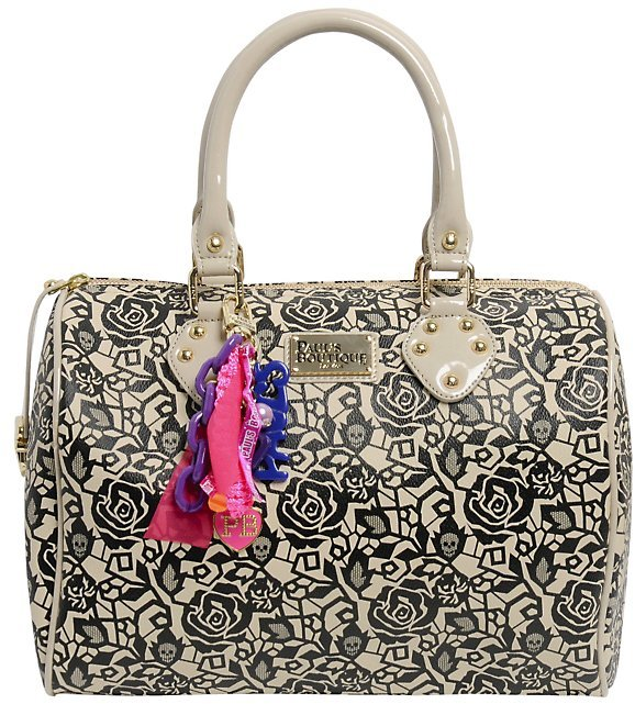 Pauls Boutique Molly Lace Skull Bag