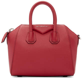 Givenchy Pink Mini Antigona Duffle Bag