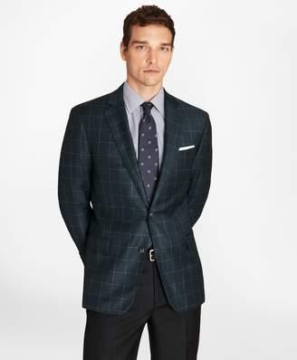 Brooks Brothers Regent Fit Windowpane Sport Coat
