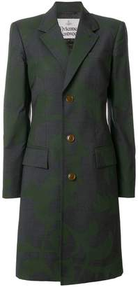 Vivienne Westwood brocade style printed coat