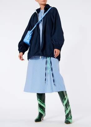 Tibi Kaia Stripe Lanyard Dress