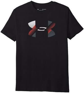 Under Armour Kids Cotton Big Logo Tee Boy's T Shirt
