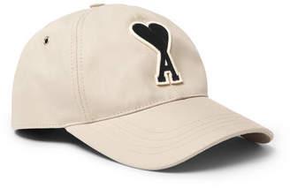 Ami Appliquéd Twill Baseball Cap