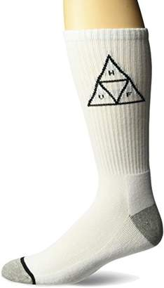 HUF Men's Triple Triangle Crew Sock