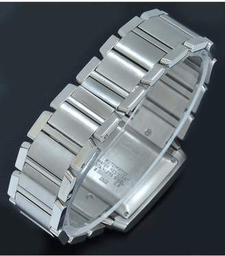 Pre-Owned Gents Tank Francaise Steel Watch. Silver Dial. Ref 2302