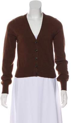Lena Hoschek Wool Knit Cardigan Brown Wool Knit Cardigan