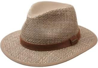 Stetson Men's Medfield Seagrass Fedora Hat Size XL