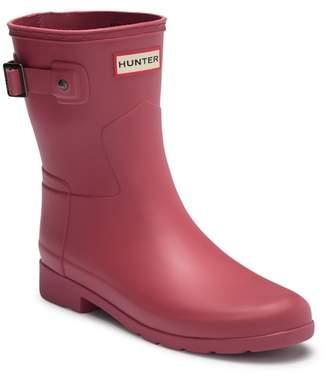 Hunter Refined Short Waterproof Rain Boot (Women)