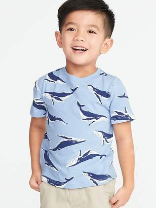 Old Navy Printed Crew-Neck Tee for Toddler Boys