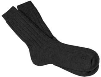 Black Men's Cashmere Socks