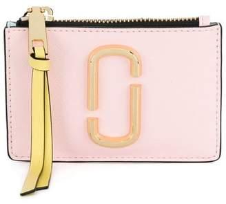Marc Jacobs Snapshot top zip card holder