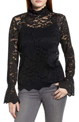 Everleigh Stretch Lace Top