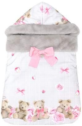 Lapin House teddy bear print nest