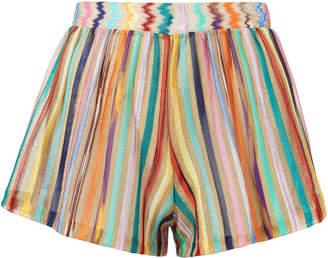 Missoni Mare Lame Striped Shorts