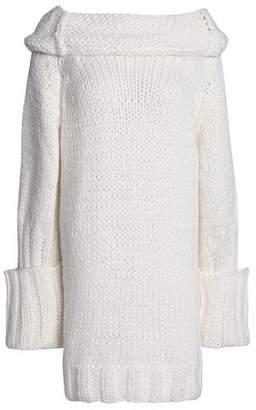 Marques Almeida Marques' Almeida Oversized Wool-Blend Knit Sweater