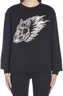 McQ 'flame Bunny' Sweatshirt