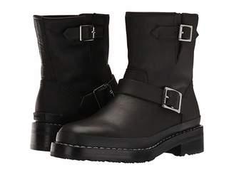Hunter Leather Biker Boot Women's Boots