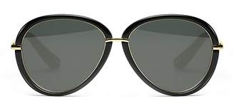 Elizabeth and James Reed Solid Round Sunglasses, 57mm