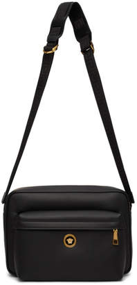 Versace Black Icon Messenger Bag