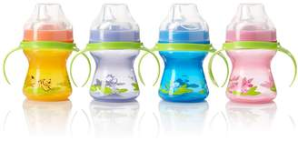 Evenflo Feeding Zoo Friends Trainer Cup - 4-Pack